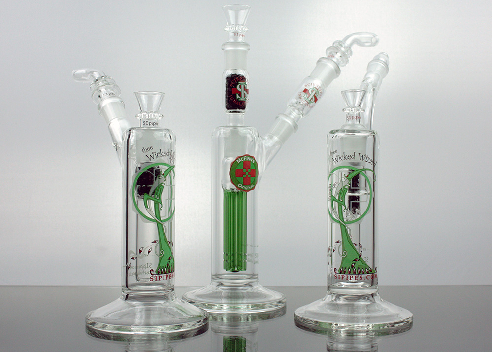 SIpipes Triple Filtered Bubblers