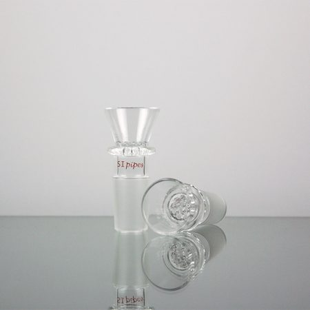 SIpipes Honeycomb Glass Screen Bowl - Male