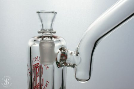 SIpipes-30-015-Mini-Honeycomb-Bubbler-Centered-Mouthpiece