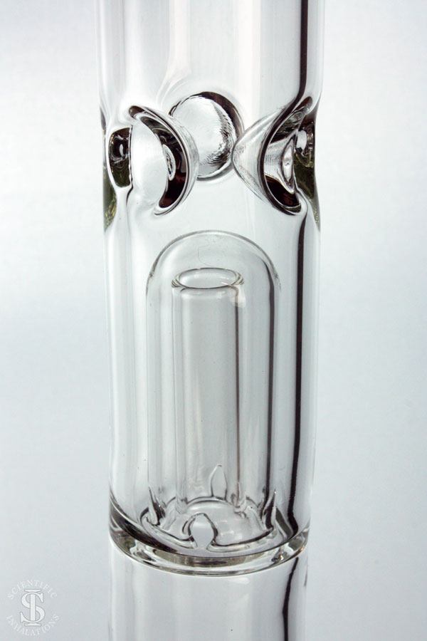 SIpipes-30-029-18in-38mm-Glass-Straight-Pipe-wDownsteam-&-Bowl