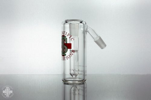 SIpipes-85-045-14mm-45deg-Carbon-Honeycomb-Downstem-Ash-Catcher