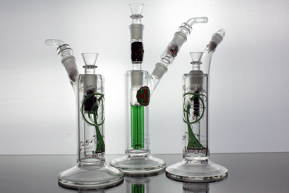 Sipipes Bongs Dab Rigs Bubblers Water Pipes Glass Pipes